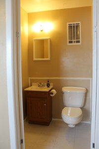 Private Master Half Bath