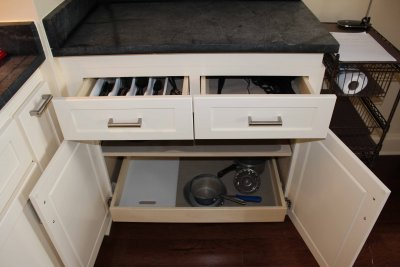 Additional Drawers Soapstone Counter Tops