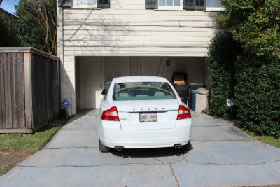 Driveway for Two Cars